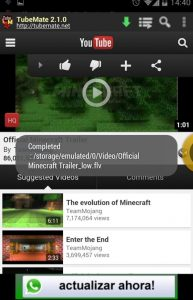 TubeMate Youtube Downloader 4