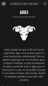 Horóscopo negro 3