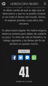 Horóscopo negro 4