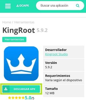 Instalar KingRoot