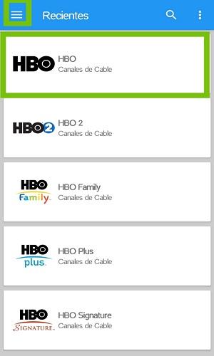 You TV Player seleccionar canal