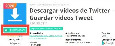 Descargar videos de Twitter fácilmente