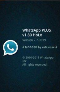 WhatsApp PLUS Holo 2