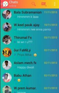 WhatsApp PLUS Holo 5