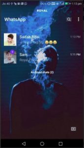Royal WhatsApp Transparent 1